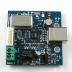 конвертер USB в SPDIF с I2S вид сбоку