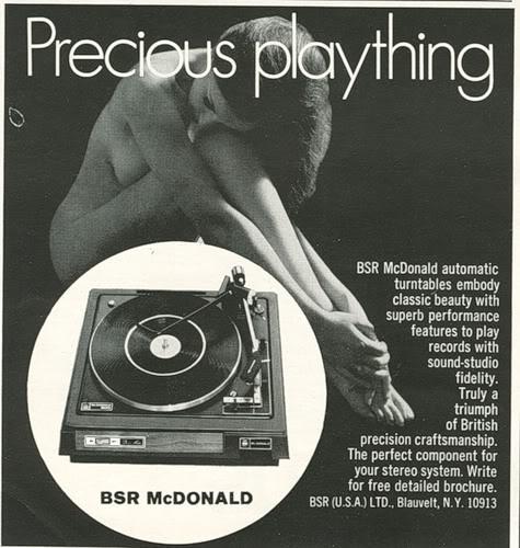 вертушка BSR McDonald
