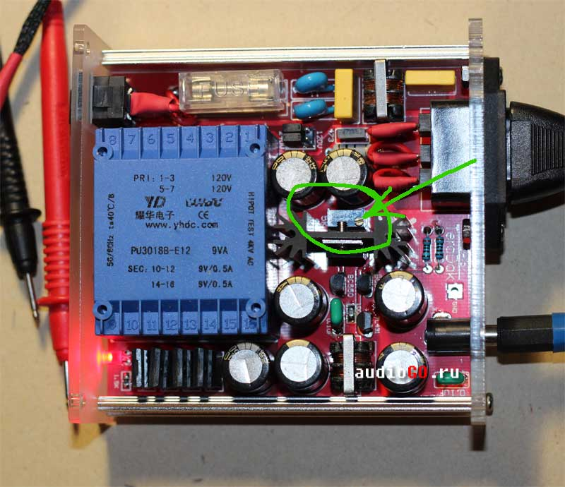 teradak power supply