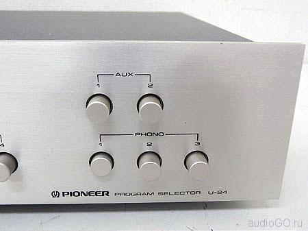 Лицевая панель Пионер U-24