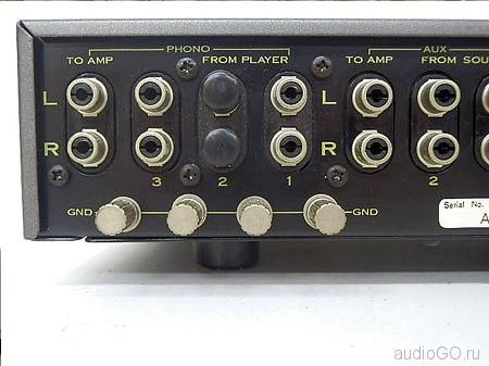 задняя панель Пионер U-24