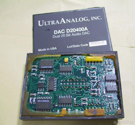 внутренности Ultra Analog DAC D20400A