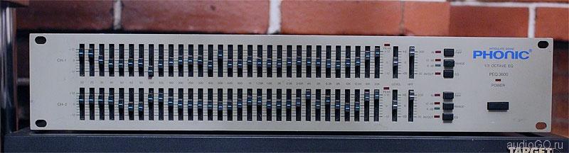 эквалайзер PHONIC PEQ-3600