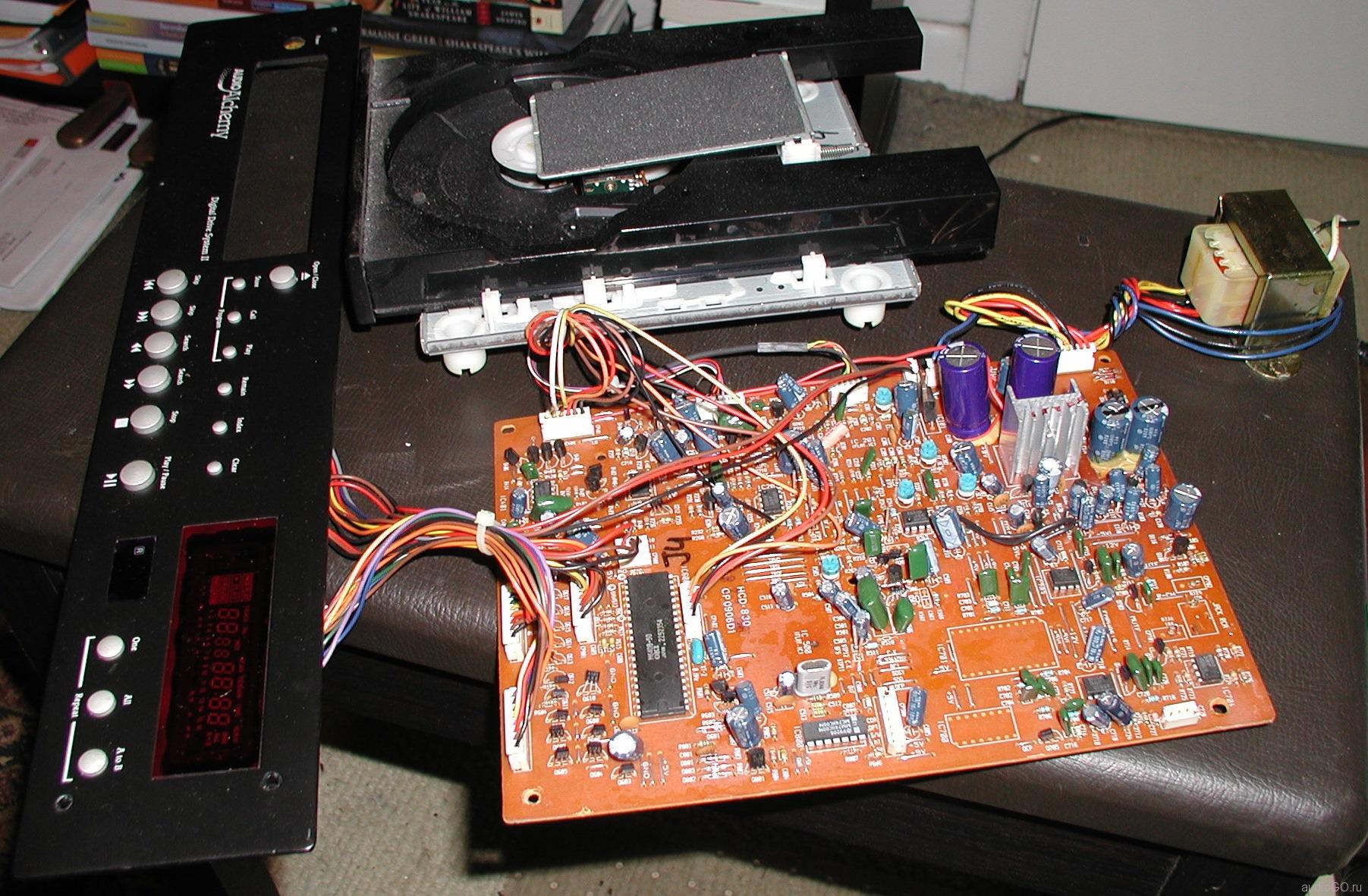 плата внутри Digital Drive System II