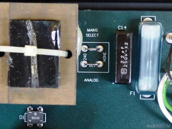 audio alchemy dds pro 120 240 V
