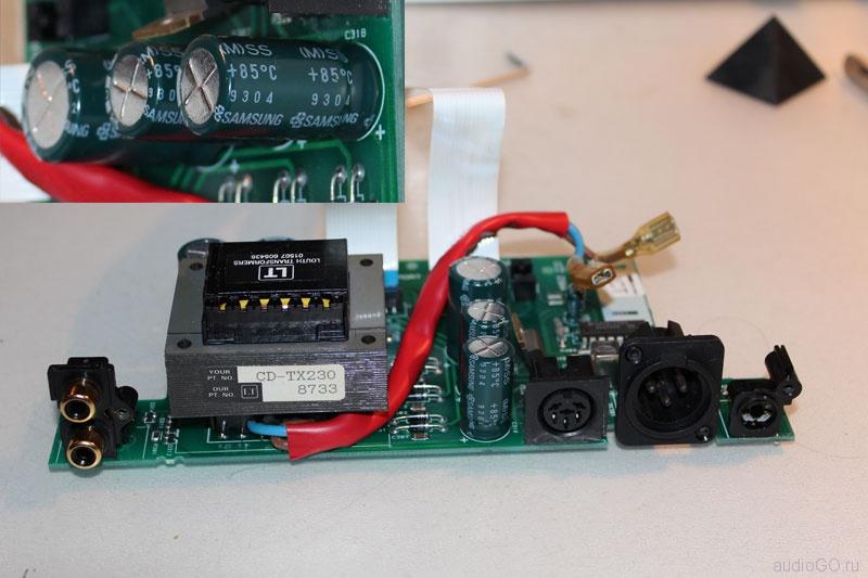 Cyrus Discmaster Power Supply Board