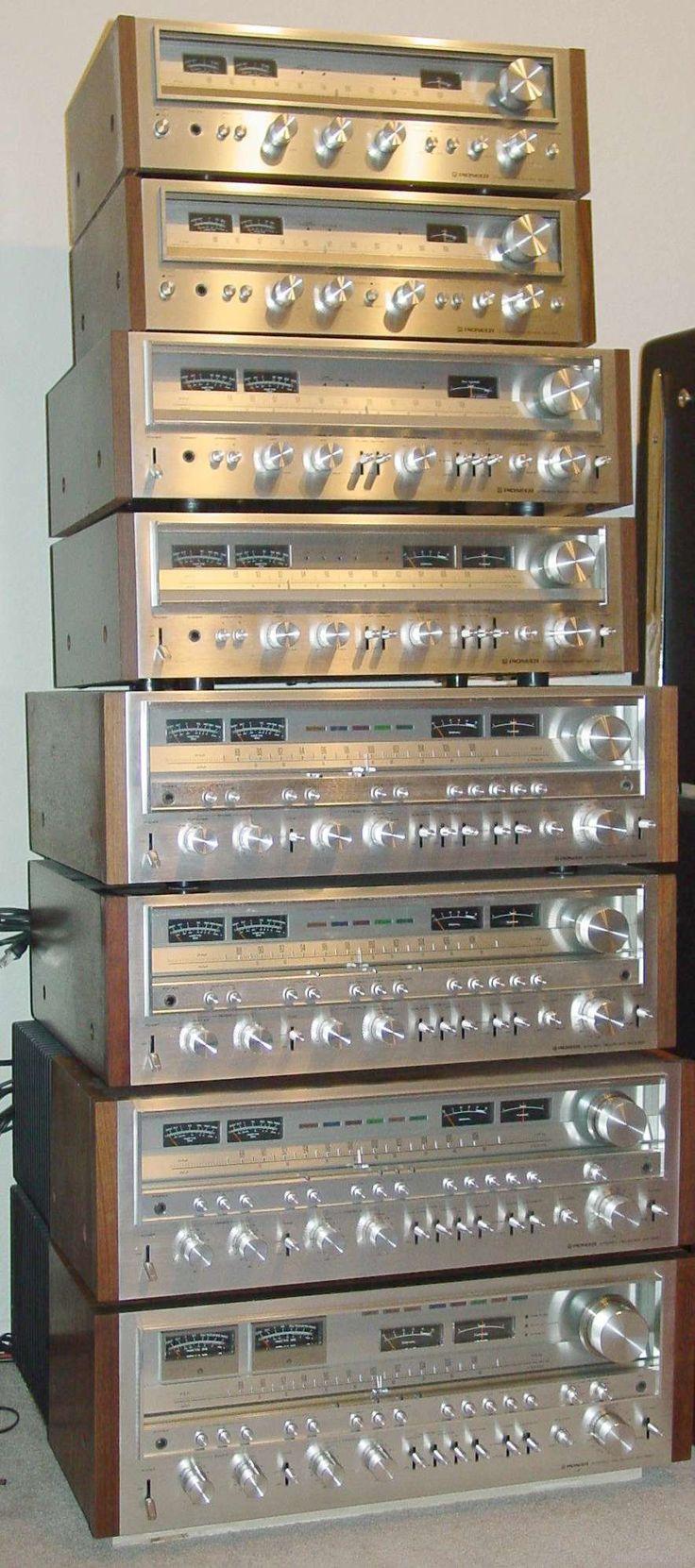 Pioneer SX ресиверы