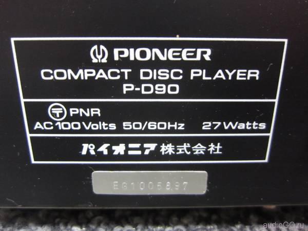 PIONEER_P-D90_serial№