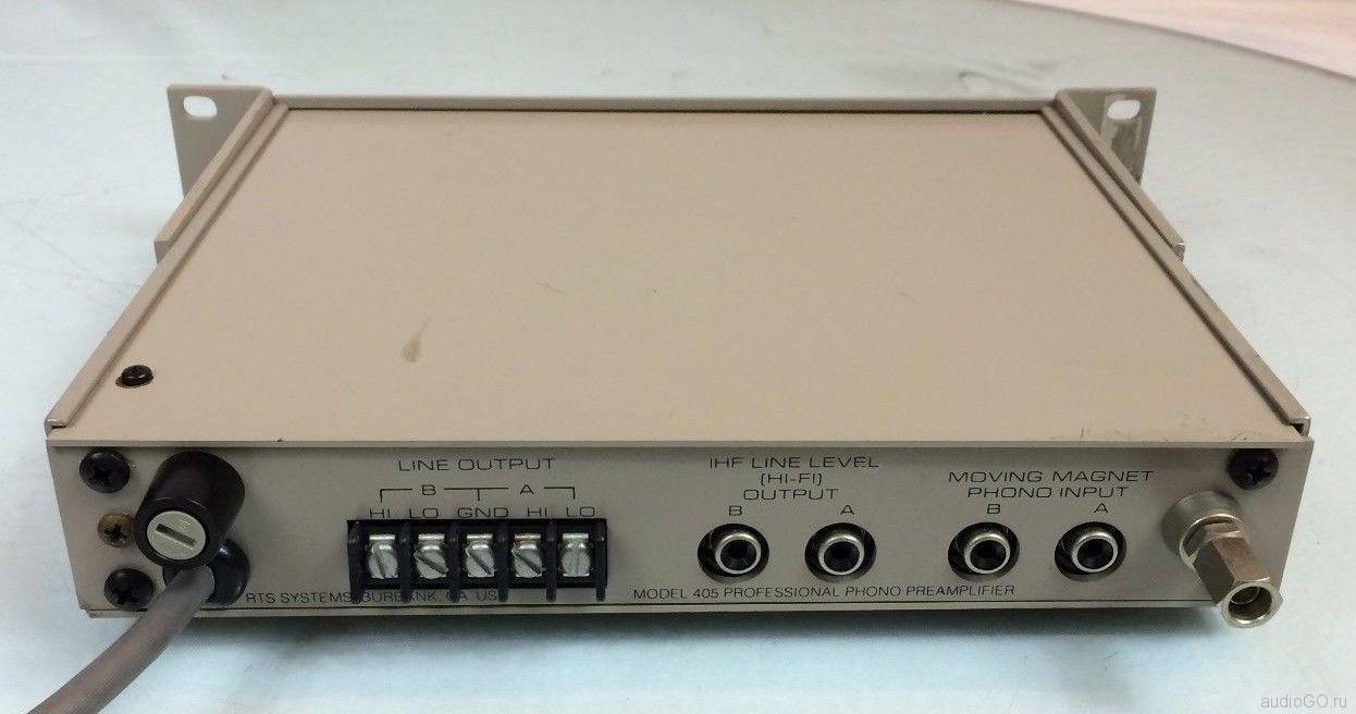 RTS Systems model 405 задняя стенка