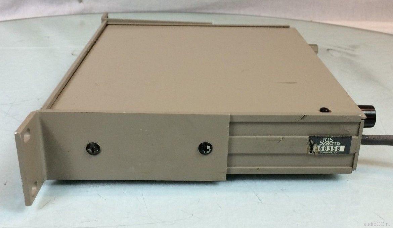 RTS Systems model 405 вид справа