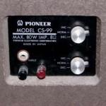 Акустика Pioneer хронология