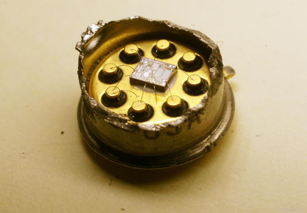 поддельная микросхема opa627 внутри