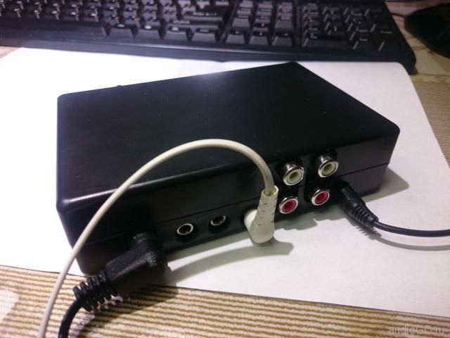 аудио сплитер разветвитель